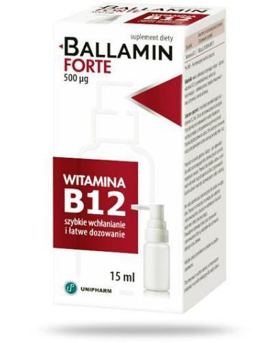 Ballamin Forte aerozol doustny 15 ml
