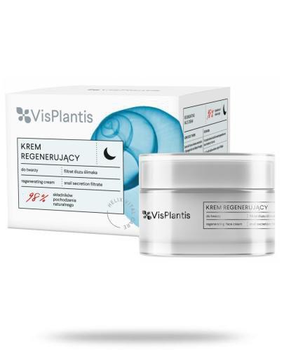 Vis Plantis Helix Vital Care krem regenerujący na noc z filtratem śluzu ślimaka 50 ml E...