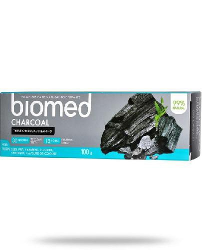 Biomed Charcoal pasta do zębów 100 g