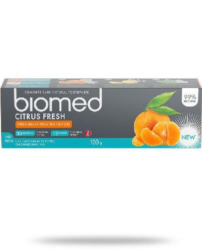 Biomed Citrus Fresh pasta do zębów 100 g