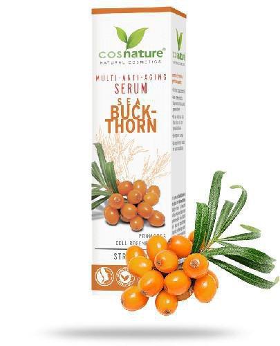 Cosnature Naturalne multiwitaminowe przeciwzmarszczkowe serum z rokitnikiem 30 ml
