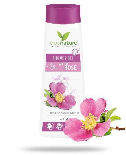 Cosnature Naturalny odżywczy żel pod prysznic z dziką różą 250 ml