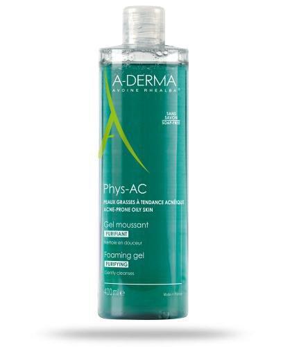 A-Derma Phys-AC żel oczyszczający do mycia 400 ml