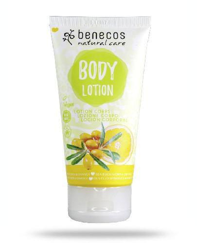 Benecos naturalny balsam do ciała Rokitnik&Pomarańcza 150 ml