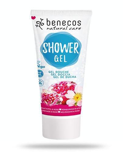 Benecos naturalny żel pod prysznic Granat&Róża 200 ml