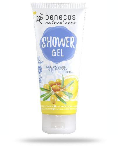 Benecos naturalny żel pod prysznic Rokitnik&Pomarańcza 200 ml