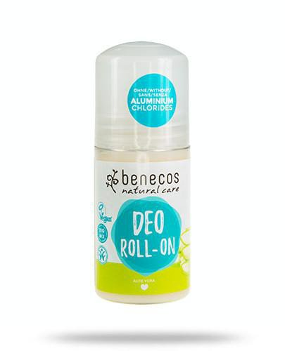 Benecos naturalny dezodorant roll-on Aloe Vera 50 ml