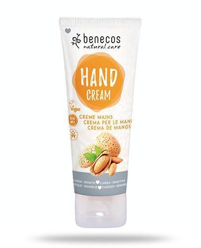 Benecos naturalny krem do rąk dla wrażliwej skóry 75 ml