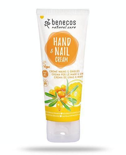 Benecos naturalny krem do rąk i paznokci Rokitnik&Pomarańcza 75 ml