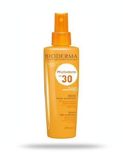 Bioderma Photoderm SPF 30 spray ochronny dla całej rodziny 200 ml
