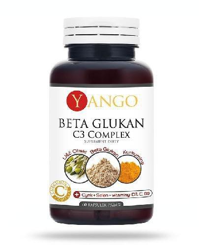 Yango Beta Glukan C3 Complex 60 kapsułek  whited-out