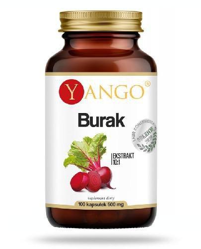 Yango Burak ekstrakt 100 kapsułek  whited-out