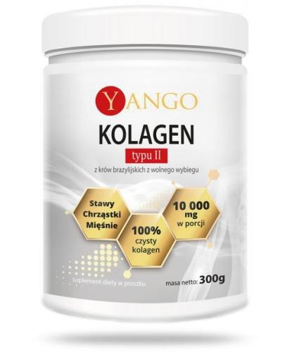 Yango Kolagen wołowy typu II 300 g