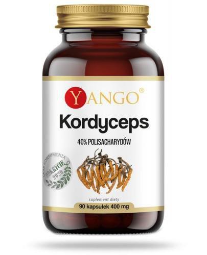 Yango Kordyceps ekstrakt 40% polisacharydów 90 kapsułek