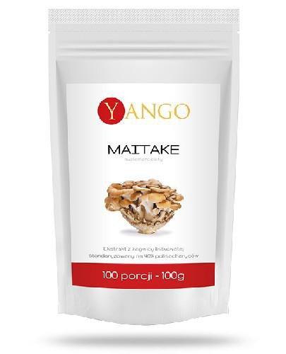Yango Maitake ekstrakt 40% polisacharydów 100 g  whited-out