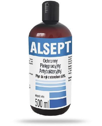 Domowa Apteczka Alsept antybakteryjny płyn do rąk 500 ml