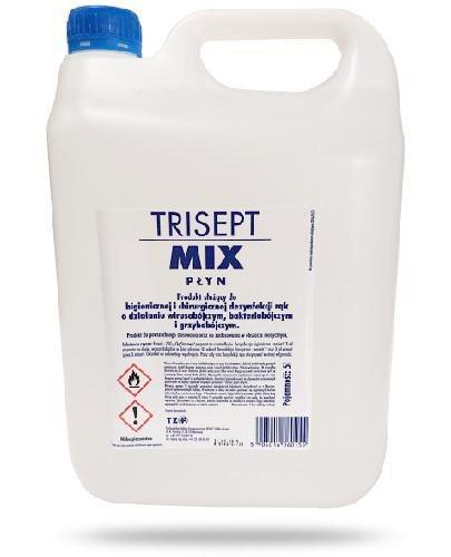Trisept Mix płyn do higienicznej i chirurgicznej dezynfekcji rąk 5 litrów
