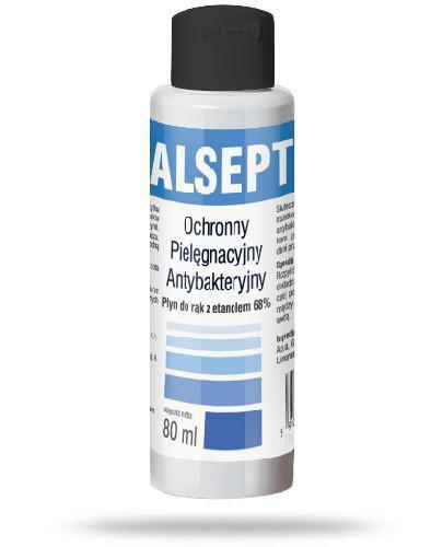 Domowa Apteczka Alsept antybakteryjny płyn do rąk 80 ml