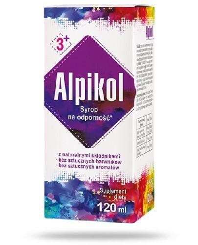 Alpikol syrop na odporność 120 ml