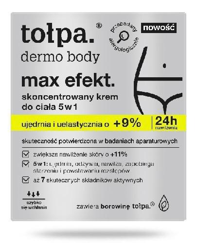 Tołpa Dermo Body Max Efekt. skoncentrowany krem do ciała 5w1 250 ml