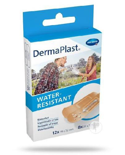 DermaPlast Water Resistant plastry 20 sztuk