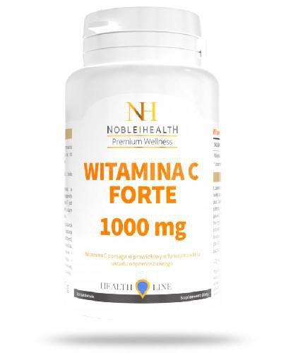 Noble Health Witamina C Forte 1000mg 30 tabletek
