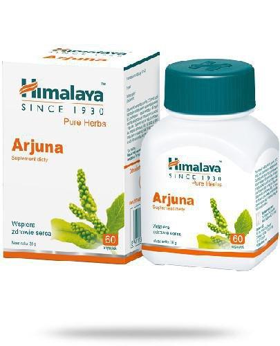 Himalaya Arjuna 60 kapsułek [KUP 2 suplementy Himalaya = Szampon proteinowy 200 ml]