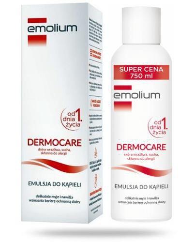 Emolium Dermocare emulsja do kąpieli od urodzenia 750 ml
