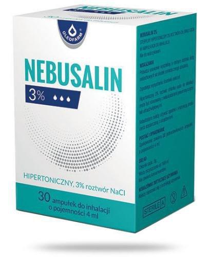Nebusalin 3% roztwór do inhalacji 30 ampułek