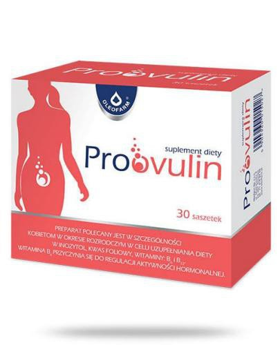 Proovulin 30 saszetek  whited-out