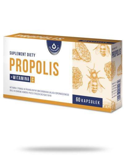 Propolis 60 kapsułek Oleofarm
