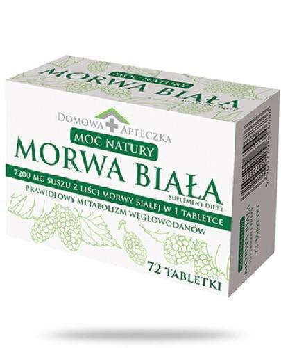 Domowa Apteczka Morwa Biała 72 tabletki