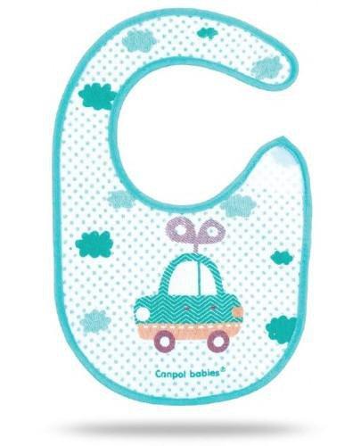 Canpol Babies Toys śliniak bawełniany na rzep 1 sztuka [15/109]