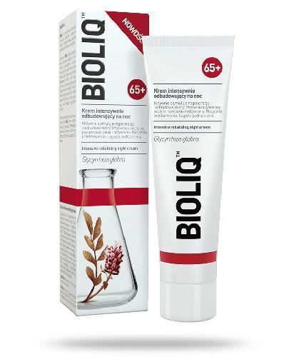 Bioliq 65+ krem intensywnie odbudowujący na noc 50 ml