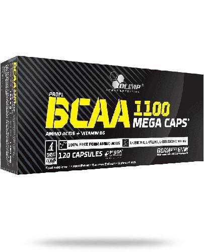 Olimp BCAA Mega Caps 1100 mg 120 kapsułek