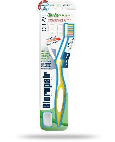 Biorepair Curve zakrzywiona szczoteczka do zębów Junior 1 sztuka