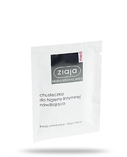 Ziaja Med chusteczka do higieny intymnej nawilżająca 1 sztuka