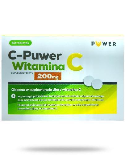 Puwer Witamina C 200mg 60 tabletek