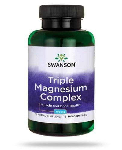 Swanson Triple Magnesium Complex 300 kapsułek