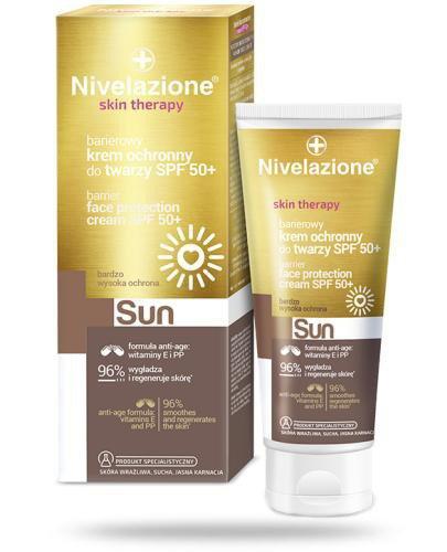 Ideepharm Nivelazione Skin Therapy Sun barierowy krem ochronny do twarzy SPF50+ 50 ml