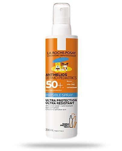 La Roche Anthelios Dermo-Pediatrics SPF50+ ochronny niewidoczny spray do ciała i twarzy d...