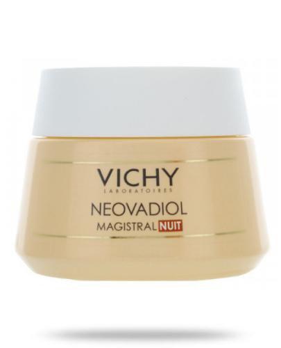 Vichy Neovadiol Magistral na noc odżywczy krem przeciwzmarszczkowy dla kobiet po menopauz...