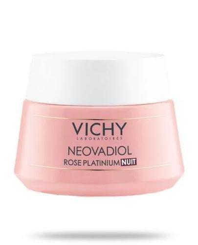 Vichy Neovadiol Rose Platinium na noc rewitalizujący i ujędrniający krem do skóry dojr...