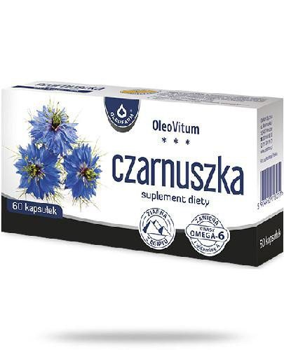 Oleofarm Czarnuszka 60 kapsułek