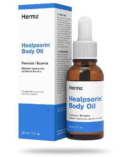 Healpsorin Body Oil olej konopny do ciała i twarzy na łuszczycę i AZS 30 ml