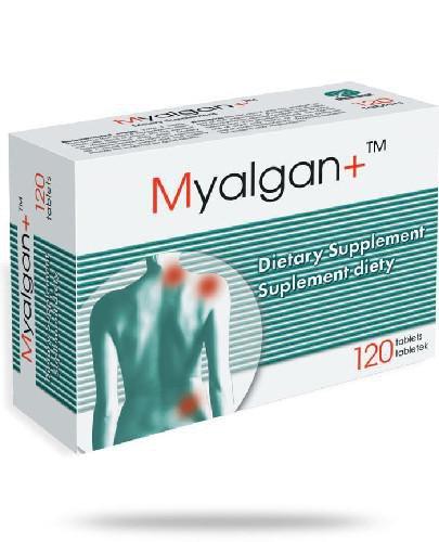 Myalgan+ 120 kapsułek