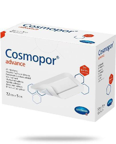 Hartmann Cosmopor Advance opatrunek na ranę 7,2cm x 5cm 25 sztuk