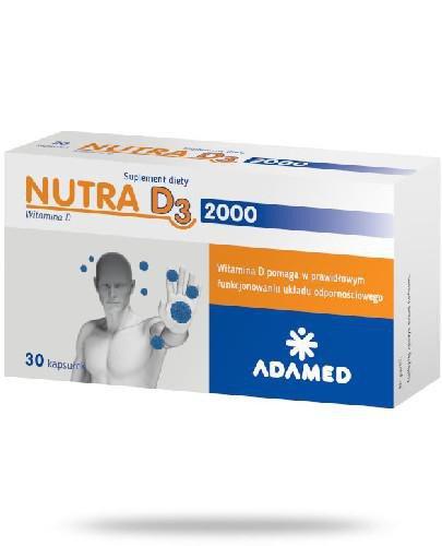 Nutra D3 2000 30 kapsułek