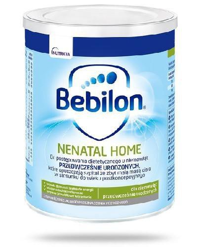 Bebilon Nenatal Home mleko dla niemowląt przedwcześnie urodzonych 400 g