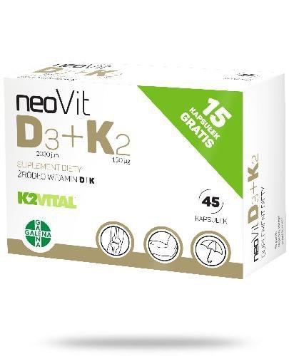 NeoVit D3+K2 45 kapsułek